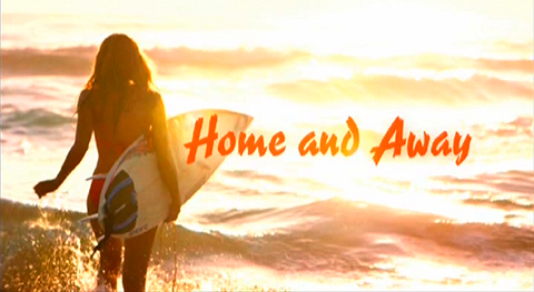 Image result for home and away logo
