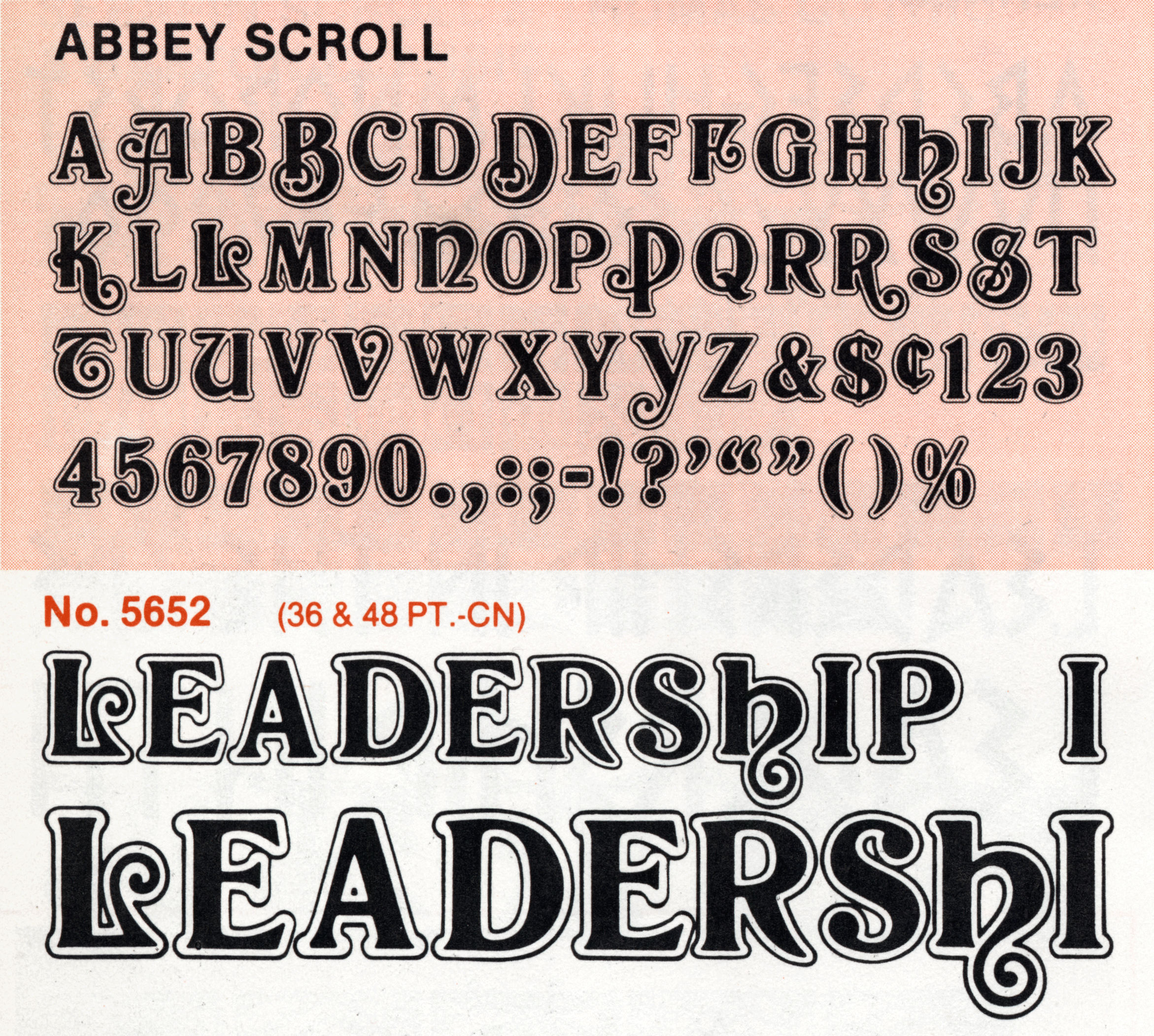 Abbey Scroll