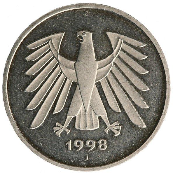 5-mark coin reverse
