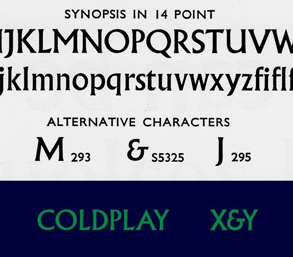 Coldplay Albertus Ampersand