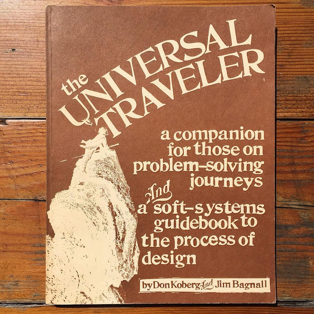 The Universal Traveler cover, photo by Sean Flannagan