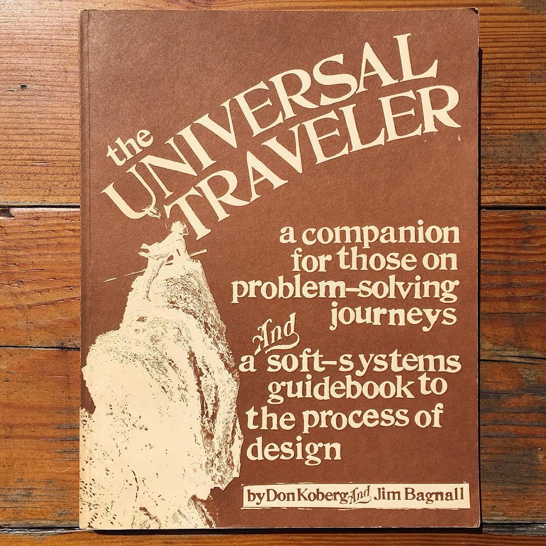 The Universal Traveler cover, photo by Sean Flannagan