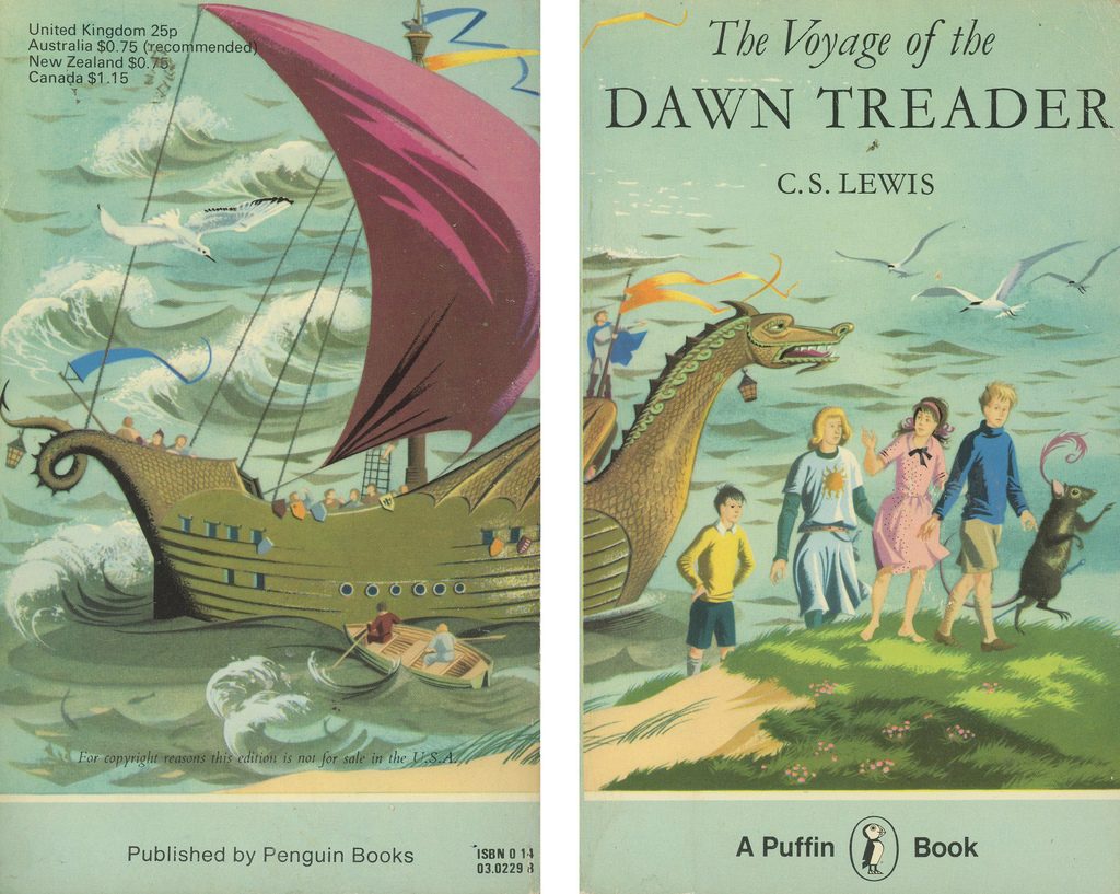 C.S. Lewis Voyage of the Dawn Treader Puffin