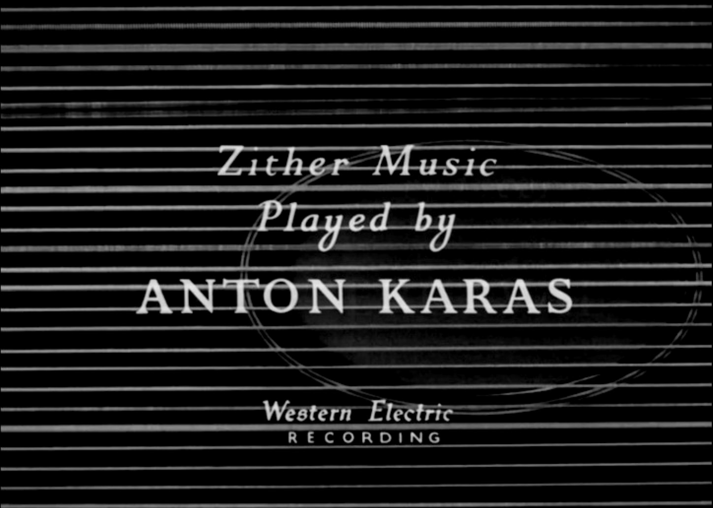 Zither music title from The Third Man