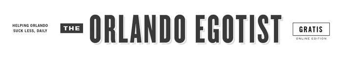The Orlando Egotist logo
