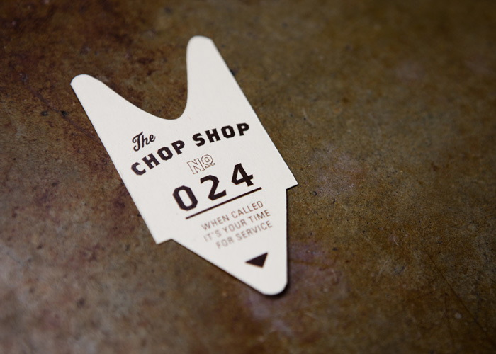 Chop Shop Ticket