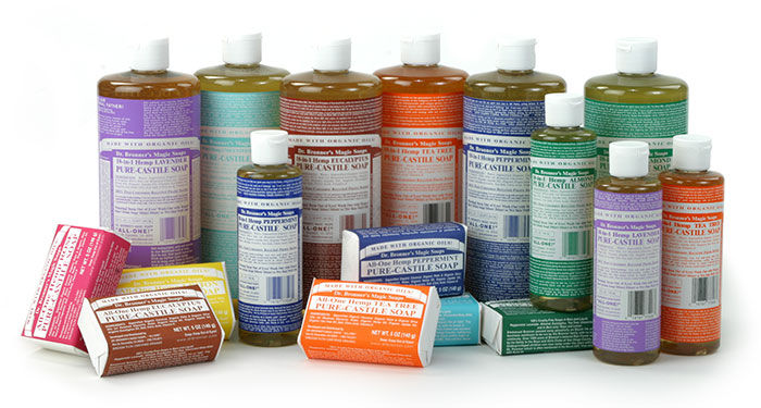 dr bronner s magic soaps fonts in use. Black Bedroom Furniture Sets. Home Design Ideas