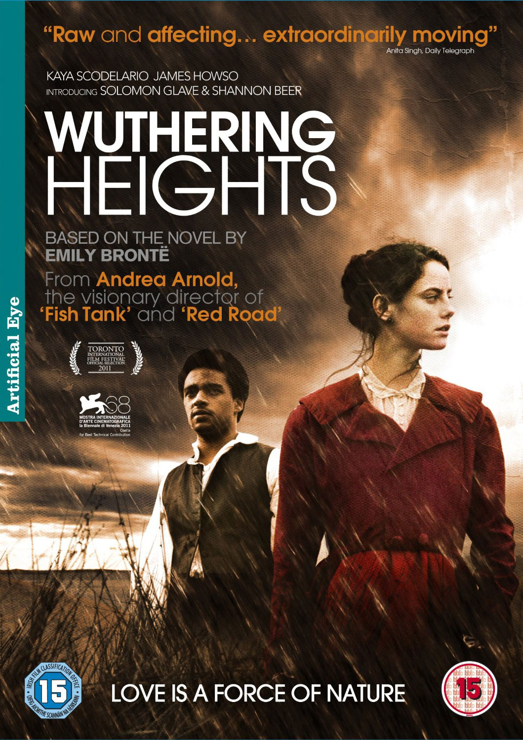 Wuthering Heights UK DVD Cover