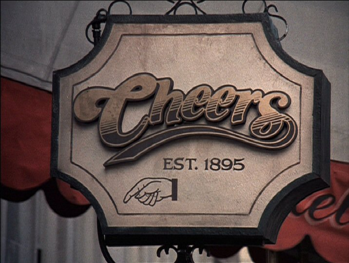 Cheers Logo And Opening Titles Fonts In Use