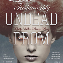 Fashionably Undead Prom